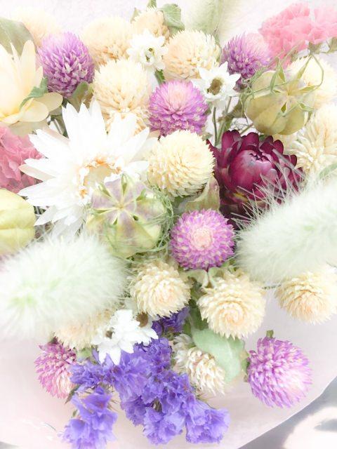 小花のドライフラワー